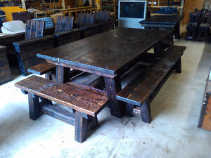 Timber Mill Picnic Tables