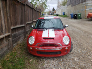 2003 mini cooper S supercharged 6 speed