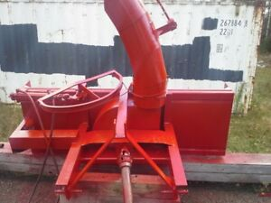 SNOWBLOWER  FOR  FARM TRACTOR   7 FT $ 1750