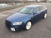 Audi A6 2.0 S LINE TDI AUTOMATIC (blue) 2007
