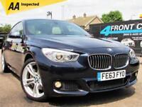2013 BMW 5 SERIES 520D M SPORT GRAN TURISMO 5DR AUTOMATIC DIESEL HATCHBACK DIESE