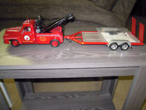 Texaco Tow Truck and Trailer