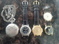 Lot of 5 Watches - Not Working