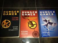 Lot livre hunger games
