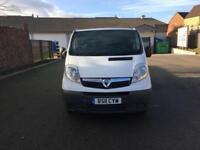 Vauxhall Vivaro 2.0CDTi 2.9T 115 LWB CREW CAB -RENAULT TRAFIC & NISSAN PRIMASTAR