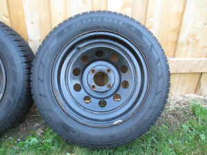 2  FORD FOCUS, FIESTA  RIMS AND SNOW TIRES  P195/65/R15 Kitchener / Waterloo Kitchener Area image 3