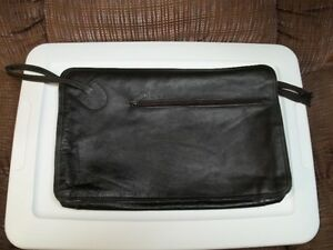 Leather Portfolio/Document Satchel.