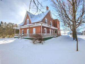Maison de campagne avec vue panoramique