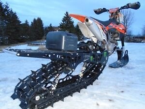 2013 KTM 450sx-f with Timbersled Mountainhorse 120