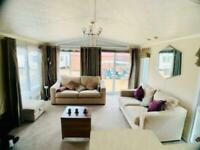 GORGEOUS LODGE FOR SALE ON BILLING AQUADROME CALL JAMES 07495 668377