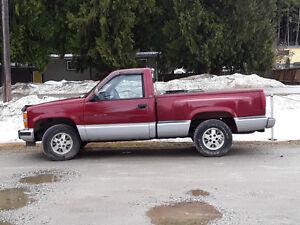 1991 Chevrolet Shortbox Stepside Pickup