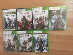 Assassin's Creed collection X360