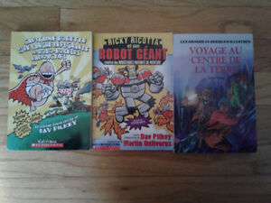 3 French Books- $3 for all! One is Captain Underpants