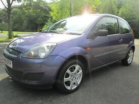 08/08 FORD FIESTA 1.25 STYLE 3DR HATCH IN MET PURPLE (NEW MOT)