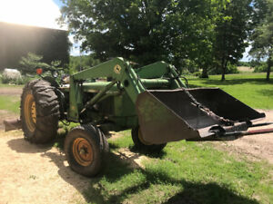 JD 1120 tractor
