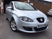 2006 SEAT ALTEA SPORT 2.0 TDI 140 SILVER 6 SPEED