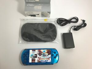 Electroblue Sony PSP 3001 Console 8GB Card 1000's of Games