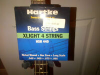 New Bass Guitar strings Hartke xlight
