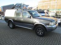 Ford Ranger 2.5TDdi Crewcab 4x4 Pickup XLT Double Cab NO VAT SNUG TOP