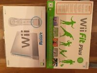 Nintendo Wii and Wii Fit Plus