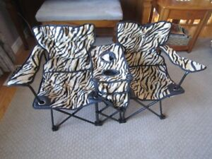 Twin Folding Chair
