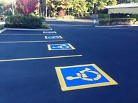 Parking Lot Striping & Hot Crack Sealing / Line Striping