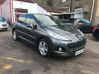 2012 Peugeot 207 1.6HDi 92 FAP Sportium ONLY £30 A YEARV TO TAX