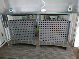 Mirror radiator cover. Upcycled