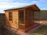HEAVY DUTY TIMBER BUILDINGS- covering central Scotland- summerhouses,playhouses&workshops available.