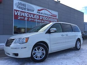 Chrysler Town - Country  Limited+CUIR+TOIT+MAGS+NAV+WOW! 2009