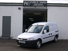 VAUXHALL COMBO 1.3CDTi 2000 CRIME SCENE RACKED PANEL CREW LOGISTICS WORK VAN