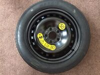 Ford C Max Space Saver Mini Wheel and Tyre