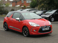 2012 62 CITROEN DS3 1.6e-HDi AIRDREAM DSPORT,1 PREVIOUS OWNER FROM NEW,