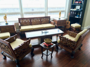 AMAZUNG COLLECTION OF HIGH QUALITY ANTIQUE ASIAN FURNITURE!!