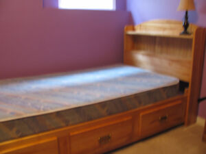 Captain's Bed with mattress