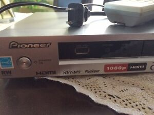 Pioneer DVD Player with Remote, 1080p, HDMI, and DivX USB Input