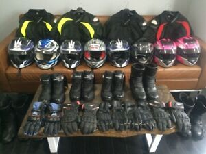 MOTORCYCLE GEAR RENTAL - M1 M2 TEST COURSE * ALL SIZES