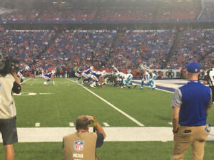 Buffalo Bills Detroit Lions Section 108 Row 1 FRONT ROW Dec 16