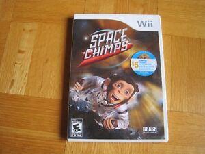 Jeu Wii Games - Space chimps