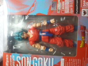 Dragon ball super SSGBSS , SSG for sale loose in box complete.
