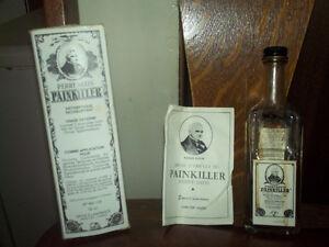 bouteille de médicament painkiller