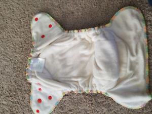 Fitted cloth diaper