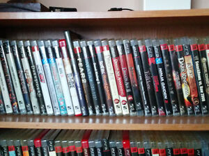 Ps3 Games  72 games new and old