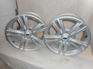 2- FORD MUSTANG 17X7 JX40 RIMS