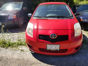 2008 Toyota Yaris 2 Door Coupe  Base Model