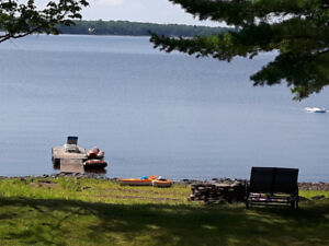Fully furnished cottage on Maquapit Lake, NB