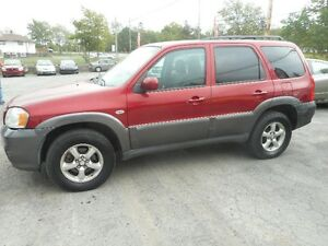 2006 Mazda Tribute SUV, Crossover tax included