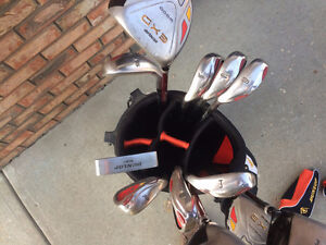 DUNLOP EXD LH full set of golf clubs and bag