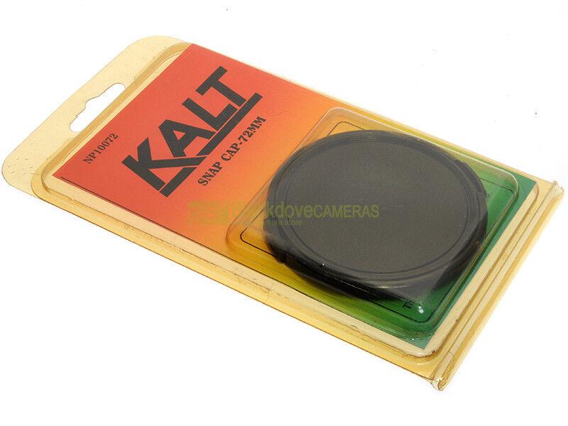 72mm. Tappo frontale per obiettivi Kalt. 72 mm. front lens cover.