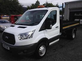 Ford Transit t350 tipper 2016 16 Reg drw only 16,000 miles
